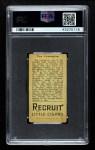 1912 T207  Tex Covington    Back Thumbnail