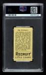 1912 T207  Jim Delahanty    Back Thumbnail