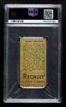 1912 T207  Ed McDonald    Back Thumbnail
