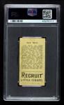 1912 T207  Jack Barry    Back Thumbnail