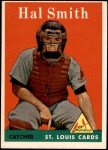 1958 Topps #273  Hal R. Smith  Front Thumbnail