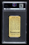 1912 T207 Broad Leaf BL Billy Kelly    Back Thumbnail