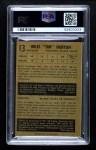 1953 Parkhurst #13  Tim Horton  Back Thumbnail