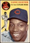 1954 Topps #23 WHT Luke Easter  Front Thumbnail