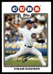 2008 Topps Update #85  Chad Gaudin  Front Thumbnail