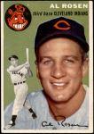 1954 Topps #15 WHT Al Rosen  Front Thumbnail