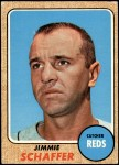 1968 Topps #463  Jim Schaffer  Front Thumbnail