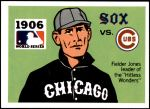 1971 Fleer World Series #4   1906 White Sox / Cubs Front Thumbnail