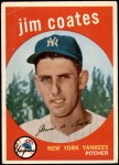 1959 Topps #525  Jim Coates  Front Thumbnail