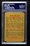 1959 Parkhurst #39  Henri Richard  Back Thumbnail