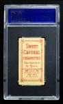 1909 T206 POR Larry Doyle  Back Thumbnail