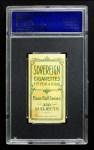 1909 T206 xCAP Hooks Wiltse  Back Thumbnail
