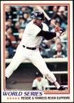 1978 Topps #413   -  Reggie Jackson 1977 World Series - Reggie and Yankees Reign Supreme Front Thumbnail