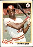 1978 Topps #556  Ed Armbrister  Front Thumbnail
