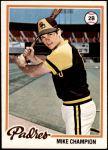 1978 Topps #683  Mike Champion  Front Thumbnail