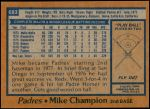 1978 Topps #683  Mike Champion  Back Thumbnail