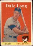 1958 Topps #7  Dale Long  Front Thumbnail