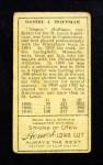 1911 T205  Danny Hoffman  Back Thumbnail