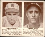 1941 Double Play #41  / 42 Johnny Cooney / Sibby Sisti  Front Thumbnail