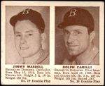 1941 Double Play #19  / 20 James Wasdell / Dolph Camilli  Front Thumbnail