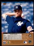 1996 Upper Deck #156  Derek Jeter  Back Thumbnail