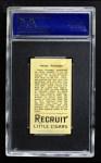 1912 T207  Oscar Stanage    Back Thumbnail