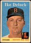 1958 Topps #328  Ike Delock  Front Thumbnail