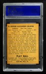 1940 Play Ball #8  George Selkirk  Back Thumbnail