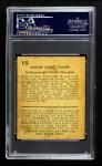 1932 U.S. Caramel #15  Gene Tunney   Back Thumbnail