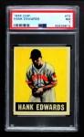 1948 Leaf #72  Hank Edwards  Front Thumbnail