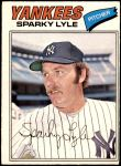 1977 O-Pee-Chee #89  Sparky Lyle  Front Thumbnail