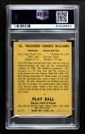 1941 Play Ball #14  Ted Williams  Back Thumbnail