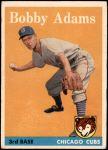 1958 Topps #99  Bobby Adams  Front Thumbnail