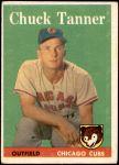 1958 Topps #91  Chuck Tanner  Front Thumbnail