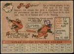 1958 Topps #394  Mudcat Grant  Back Thumbnail