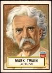 1952 Topps Look 'N See #29  Mark Twain  Front Thumbnail