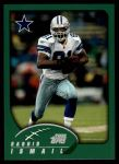 2002 Topps #166  Rocket Ismail  Front Thumbnail