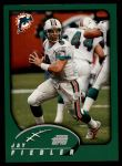 2002 Topps #192  Jay Fiedler  Front Thumbnail
