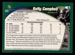 2002 Topps #343  Kelly Campbell  Back Thumbnail