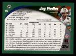 2002 Topps #192  Jay Fiedler  Back Thumbnail