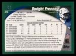 2002 Topps #316  Dwight Freeney  Back Thumbnail