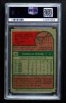1975 Topps #20  Thurman Munson  Back Thumbnail