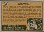 1962 Mars Attacks #30   Trapped Back Thumbnail
