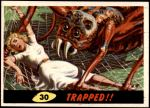 1962 Mars Attacks #30   Trapped Front Thumbnail