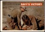 1956 Topps Davy Crockett Orange Back #48   Davy's Victory  Front Thumbnail