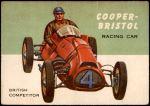 1954 Topps World on Wheels #26   Cooper-Bristol Front Thumbnail