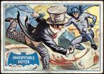 1966 Topps Batman Blue Bat Puzzle Back #42   Inhospitable Hatter! Front Thumbnail
