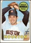 1969 Topps #594  Dooley Womack  Front Thumbnail