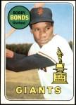 1969 Topps #630  Bobby Bonds  Front Thumbnail