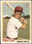 1978 Topps #642  Denny Doyle  Front Thumbnail
